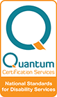 National Standards for Disability Services Certified - Quantum Certification Services